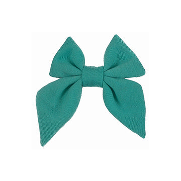 "Aquamarine - 3"" Jersey Sailor Bow"
