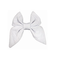 "White - 3"" Jersey Sailor Bow"