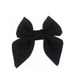 "Black - 3"" Jersey Sailor Bow"