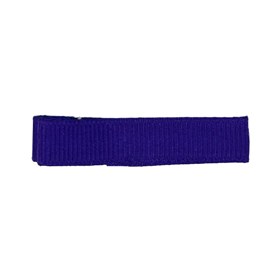 Royal Purple - Partially Lined - Single Prong Alligator Clip - 45mm