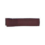 Brown - Partially Lined - Single Prong Alligator Clip - 45mm