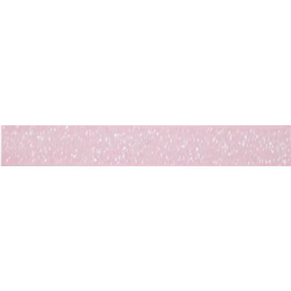 "Light Pink - 5/8"" Frosted Glitter Elastic"