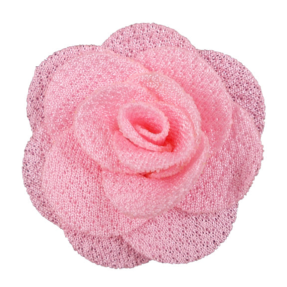 "Light Pink - 1.5"" Mini Cloth Flower"