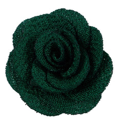 "Emerald Green - 1.5"" Mini Cloth Flower"