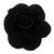 "Black - 1.5"" Mini Cloth Flower"