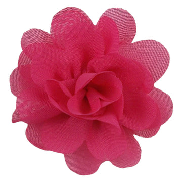 "Hot Pink - 2"" Mini Chiffon Puff"