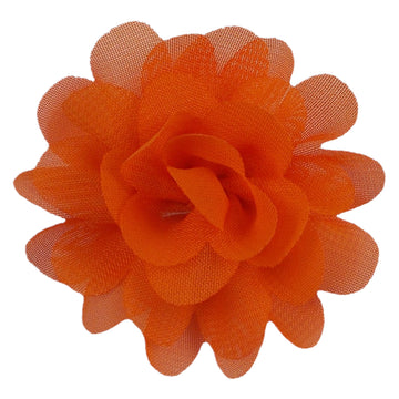 "Orange - 2"" Mini Chiffon Puff"