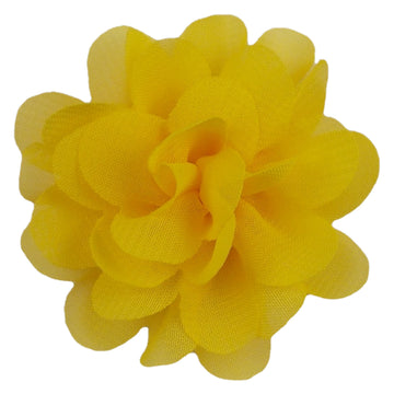 "Yellow - 2"" Mini Chiffon Puff"