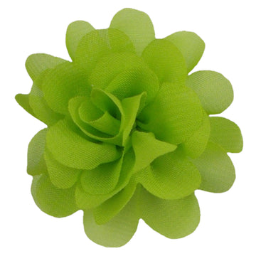 "Lime Green - 2"" Mini Chiffon Puff"