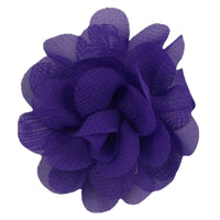 "Purple - 2"" Mini Chiffon Puff"
