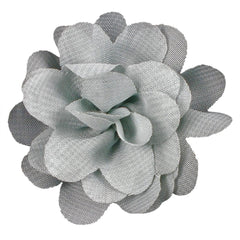 "Gray - 2"" Mini Chiffon Puff"