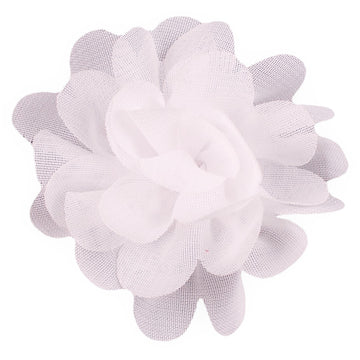 "White - 2"" Mini Chiffon Puff"