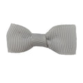 "Gray - 1.5"" Grosgrain Bow"