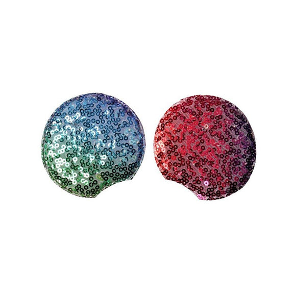"Rainbow - 2.75"" Sequins Mouse Ears"
