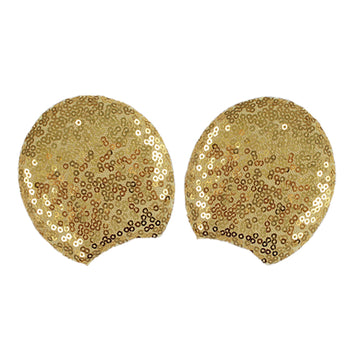 "Gold - 3.25"" Sequins Mouse Ears"