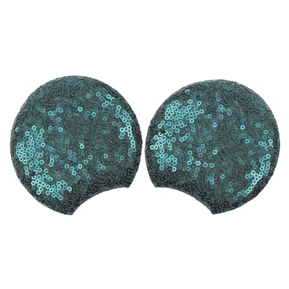 "Emerald - 3.25"" Sequins Mouse Ears"