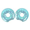 "Blue Donut - 3.25"" Reversible Sequins Mouse Ears"