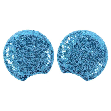 "Blue - 3.25"" Sequins Mouse Ears"