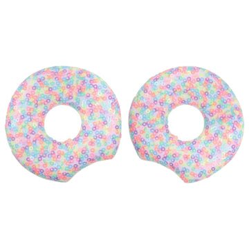 "Candy Confetti Donut - 3.25"" Sequins Mouse Ears"