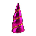 "Hot Pink - 2"" Padded Unicorn Horn"