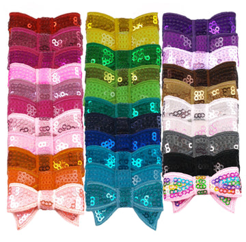 "Grab Bag - 1.75"" Mini Sequin Bow - 10 Bows"