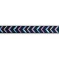 "Pastel Chevron - 5/8"" Printed Fold Over Elastic"