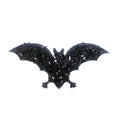 "Black Bat - 1.25"" Padded Applique"