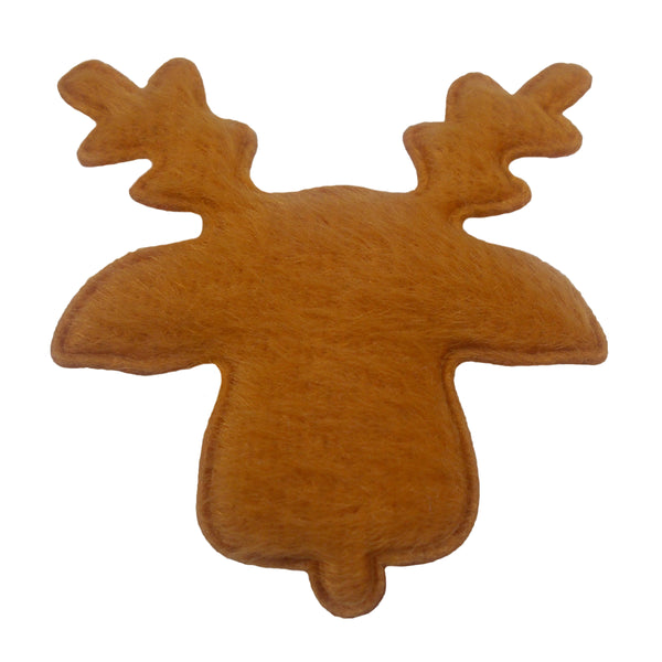 "Tan Reindeer - 1.5"" Padded Applique"