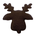 "Brown Reindeer - 1.5"" Padded Applique"