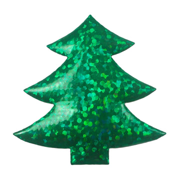 "Green Christmas Tree - 1.5"" Padded Applique"
