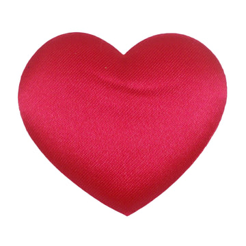 "Hot Pink Heart - 1.5"" Padded Applique"