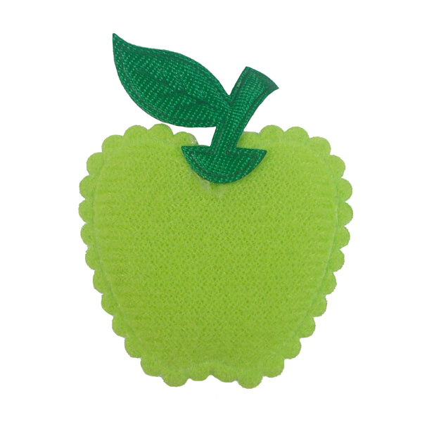 "Green Apple - 1"" Padded Applique"
