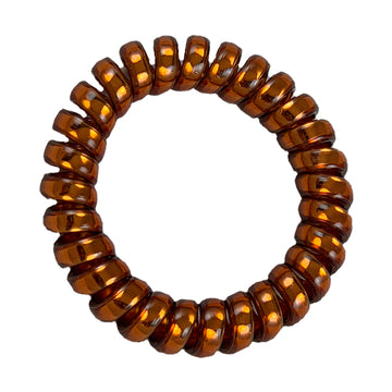 Chestnut - Phone Cord Hair Tie