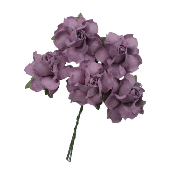 "Wild Orchid - 1.25"" Mulberry Paper Flowers"