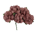 "Blush - 1.25"" Mulberry Paper Flowers"