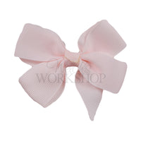 "Pale Pink - 3"" Pinwheel Ribbon Bow"