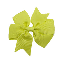 Candy Yellow - Pinwheel Ribbon Bow