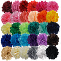 "Grab Bag - 2"" Satin & Mesh Flower - 10 Flowers"