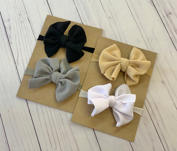 Neutrals - DIY Nylon Headband Kit