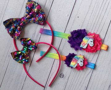 Run Wild Horses - Big Sister/Little Sister Headband Kit