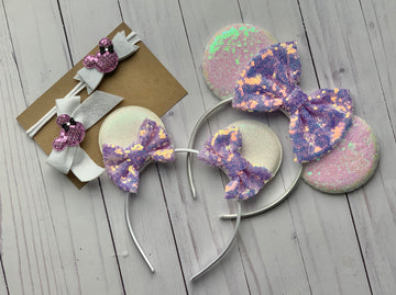 Soft Wishes - Big Sister/Little Sister Headband Kit