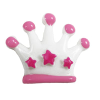 "Princess Crown - 1"" Flatback Resin Applique"