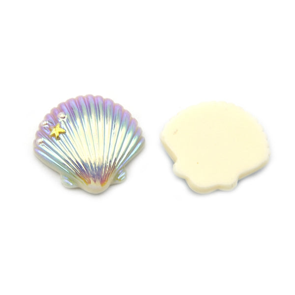 "Seashell #4 - 1"" Resin"