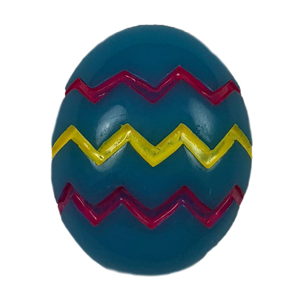 "Blue Easter Egg - 1"" Flatback Resin Applique"