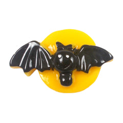 "Bat & Moon - 1"" Flatback Resin"