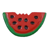 "Watermelon - 1"" Flatback Resin Applique"