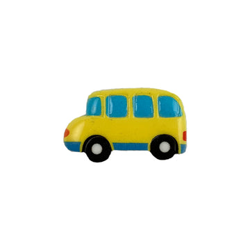 "1.25"" School Bus - Flatback Resin Applique"