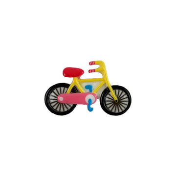 "1.25"" Bicycle - Flatback Resin Applique"