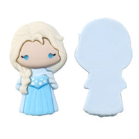"Princess #17 - 1.25"" Resin Applique"
