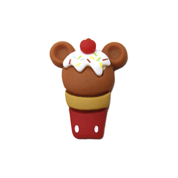 "Mickey Mouse Ice Cream Cone - 1"" Resin"